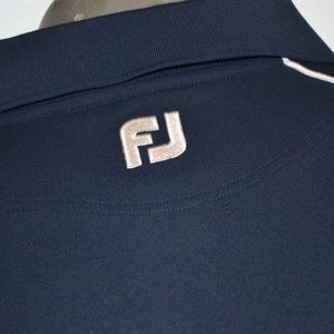 7812 Mens Footjoy Golf Polo Shirt Polyester Size